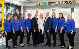 Dwyer and Ross optometrists kippa ring QLD